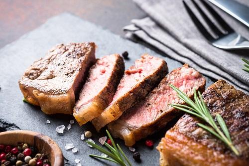 steak haché de bœuf Angus